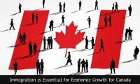 The number of people migrating to Canada has shot up to 6.6% since last year. Jobs held by native Canadians were shot down during that time.  https://www.opulentuz.com/immigration/news-details/immigration-is-essential-for-economic-growth-for-canada/3422
