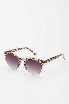 Rimless Animal Print Sunglasses  #UrbanOutfitters