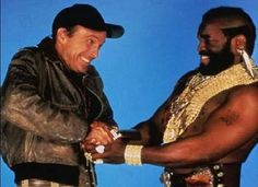 Murdock and BA Baracus from The A-Team