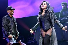 November 2: Kendrick Lamar and Lil' Kim perform onstage at Power 105.1's Powerhouse 2013 in New York City.