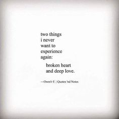 i never want to love again quotes