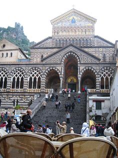 Duomo di Amalfi Italy.......i stood in this exact spot and i WILL go back!