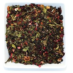 Tealyra - White Garden Bouquet - Fruity White Loose Leaf Tea Blend - Hibiscus - Strawberry - Raspberry - Antioxidants and Vitamines Rich - All Natural Ingredients - Red Raspberry, Strawberry, Dried Strawberries, Blackberries, Summer Berries, Tea Blends, White Gardens, Loose Leaf Tea, Hibiscus