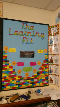 Lego themed learning pit