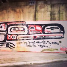 Today's Random #art sighting! #NativeArt #FirstNations #Vancouver