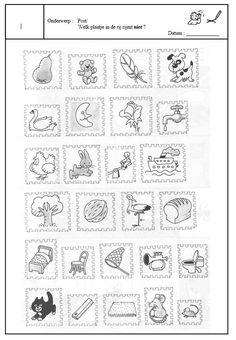 Postzegels Office Themes, Post Office, Diy For Kids, Kindergarten, Letters, Teaching, Activities, Logos, Spelling