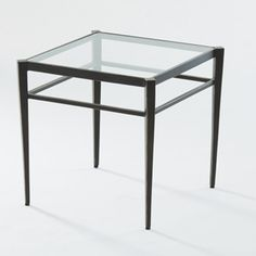 Although small in size, the Global Views Lescot Small Side Table is big on mid-century modern style. The retro table features a sturdy iron frame finished. Led Tv Stand, Grey Armchair, Retro Table, Square Side Table, Iron Table, Nesting Tables, Chair Fabric, Living Room Furniture, Mid-century Modern