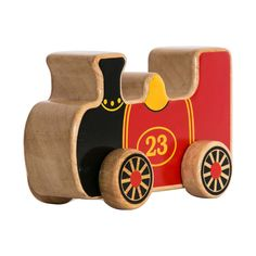 A great gift for any child fascinated with transport. Using a timeless wooden design this wooden train is bound to have the kids occupied for hours. The attractive bold and vibrant colours used to depict a London Underground Train are perfect to capture the attention of a young and creative mind. Created in Sri Lanka by Lanka Kade, this wooden Train toy is made by a company who are renowned for their fair trade. Lanka gives local people in Sri Lanka the opportunity, which they would…