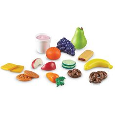 It's snack time with the Learning Resources Healthy Snack Set! Nourishing snacks encourage children to make healthy choices! Freshly designed play food are soft and . Healthy Food Choices, Healthy Snacks For Kids, Healthy Foods To Eat, Healthy Eating, Healthy Breakfasts, Healthy Birthday Snacks, Clean Foods, Healthy Salads, Healthy Weight