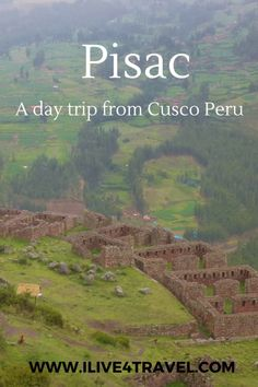 Pisac Sacred Valley Cusco Peru