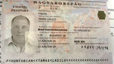 Rovásos útlevél - Fábián Tamás
