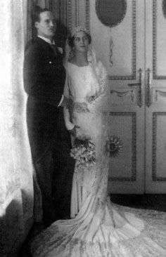 PRINCESS CECILIE OF GREECE & DENMARK -  2nd February 1931 on the occasion of her marriage to Georg Donatus, Hereditary Grand Duke of Hesse, great grandson of Victoria, Queen of England.  She was a 2x great granddaughter of Victoria; they were 2nd cousins, 1x removed.