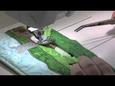 How to bind a mug rug or other small quilt projects Part - 1... (PinKeeps Aprons and Stitchin Too !!)