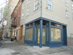 The exterior of Vinegar Hill House's cafe expansion is looking a lot more charming than the boarded-up storefront it once was. (Grub Street noticed a SWO at ...