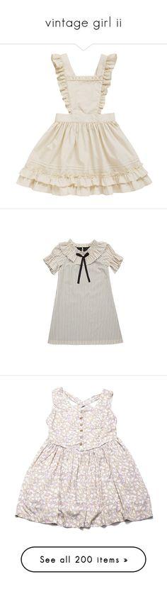 """vintage girl ii"" by sleepyseas ❤ liked on Polyvore featuring dresses, apron, skirts, lolita, apron dress, robe, inc international concepts, inc international concepts dresses, vestidos and dresses/rompers"