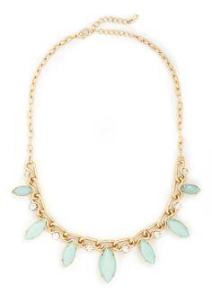 Pear Tree in Paradise Necklace | Mod Retro Vintage Necklaces | ModCloth.com