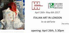 "DEGIOVANNI LUIGI a London LONDRA GALLERIA D'ARTE MENTANA   P.zza Mentana 2/3r - 50122 (Fi)  Alla:  ""Crypt Gallery"" Euston Road, Kings Cross, NW12BA, London, U.K.  Con la mostra: ""ITALIAN ART IN LONDON""  #arte #mostra #maxxi #art #ars #mostra #londra"