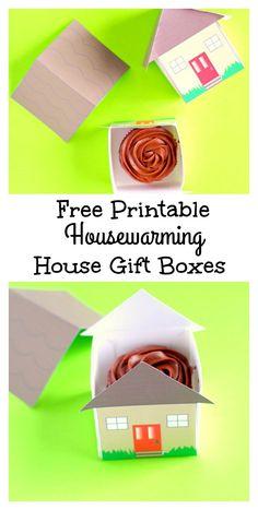 Free Printable Housewarming Gift Boxes