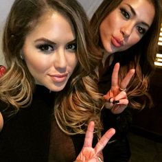 2 for 1 selfie of octagon babes, Brittney Palmer & Arianny Celeste : if you love #MMA, you'll love the #UFC & #MixedMartialArts inspired fashion at CageCult: http://cagecult.com/mma