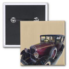 Oldtimer car buttons