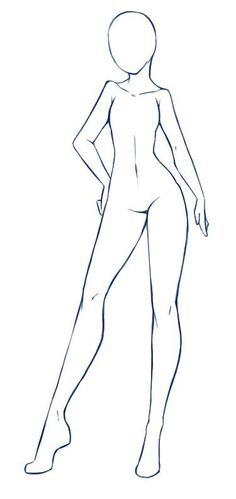 52 ideas drawing anime poses for 2019 Drawing Body Proportions, Drawing Body Poses, Drawing Reference Poses, Design Reference, Anatomy Reference, Reference Images, Body Outline, Body Sketches, Character Sketches