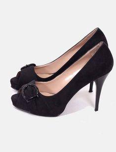 Para Rosa Ponerse Abiertos Zapatos Cosas Tacón Palo Zara De qgn7O