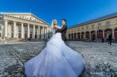 Hochzeitsfotografie mitten in München am Opernplatz
