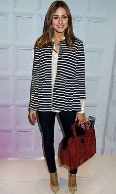 Olivia Palermo in Old Navy coat in New York - Olivia Palermo Pictures | InStyle UK