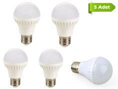 Led Teknolojisiyle Aydınlanmak Şok Fiyata.5 Adet 5 Watt LED AMPUL Fırsatı Sadece 29 TL