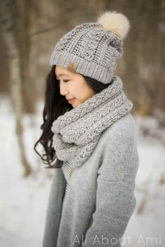 Crochet Braided Cabled Slouchy Beanie