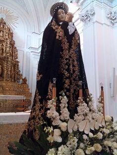 Venerd Santo A Polizzi Generosa La Madonna Veste DG Donato E Disegnato Da Domenico