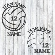 SVG Volleyball Team Decal
