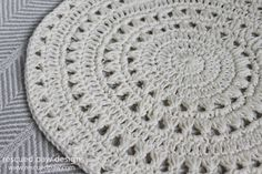 Free Crochet Doily Pattern :: Rescued Paw Designs WILL WORK FOR PLACEMATS!!