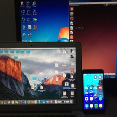 Five operation systems on my four devices. OS X  windows 7 Linux android and iOS! I suppose I'm pure coding doge. Go Hadoop Go! #hadoop #linux #VMvirtualbox by bismarck_liu