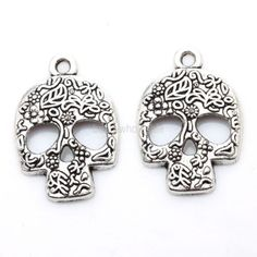 20Pcs-Hot-Sale-Tibetan-Silver-Skull-Charms-Pendants-For-Jewelry-Craft-Making