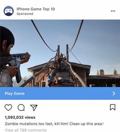 So is Days Gone an iPhone game now?