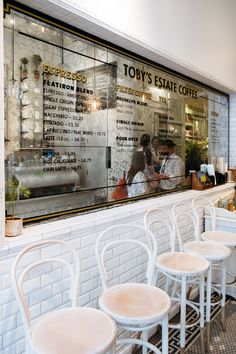 Toby's Estate Espresso bar in Flatiron District New York