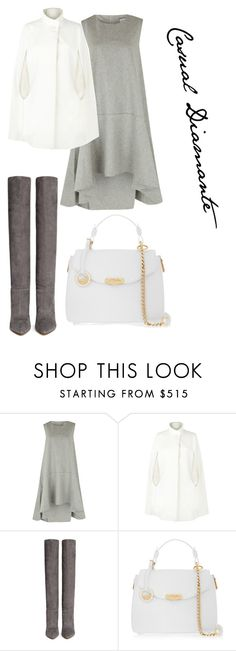 """Casual Diamante"" by anamayo on Polyvore featuring moda, Harrods, Gianvito Rossi y Versace"