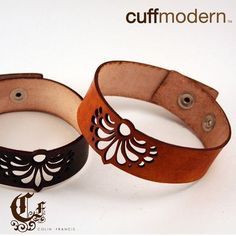 nice Design your own jewelry - waybackwhen...laser cut leather choker