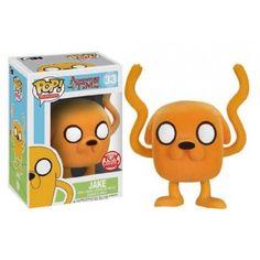 Funko Pop! Flocked Jake, Toy Wars Exclusive, Hora da Aventura, Adventure Time, Cartoon, Funkomania