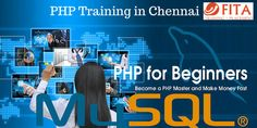 FITA is best PHP Training Institutes in Chennai offering professional training on PHP and other web development tools like HTML5, WordPress, Asp.Net, etc.  Our training syllabus is designed by experts with more than decade of experience in web design and development industries. Our 100% practical and placement oriented training will assist students to enter web design and development industry with boon. http://www.fita.in/php-training-in-chennai/