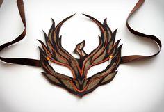 Phoenix-Bird Mask. Ooooooo!!!