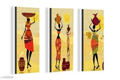 Paintings & Posters Attractive Trendy Wall Posters  Material: MDF  Size- (L X W ): 36 cm X 45 cm Description: It Has 3 Pieces Of Wall Poster Work: Printed Country of Origin: India Sizes Available: Free Size   Catalog Rating: ★4.1 (6086)  Catalog Name: Navratri Multicolor Attractive Trendy Wall Posters Vol 5 CatalogID_622663 C127-SC1611 Code: 391-4339512-792