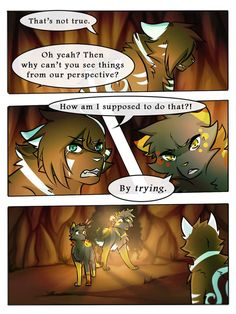 Pg SR Comic: Pg 81 Pg Pg SR Comic: *Redone* Original version (for those who still want to read/compare. Warrior Cats Funny, Warrior Cats Comics, Warrior Cat Drawings, Warrior Cats Fan Art, Cat Comics, Cat Reading, Cat Face, Stargazing, Kittens Cutest