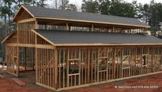 Tips And Ideas For DIY Pole Barn Are you looking for an easy, inexpensive way to add additional storage to your property? If so, a DIY Pole barn homes Diy Pole Barn, Pole Barn Kits, Pole Barn Designs, Pole Barn House Plans, Barn Garage, Pole Barn Homes, Pole Barns, Metal Building Homes, Building A House