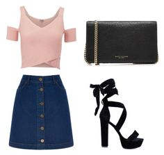 """""""A little bit pretty ✨"""" by yasmin-bach-rasmussen on Polyvore featuring Oasis, Lipsy and Marc Jacobs"""