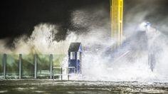 Stürmisches Wetter an der Küste, Benjamin Nolte / dpa - Bereitgestellt von Süddeutsche.de