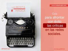 Guía para afrontar con éxito las criticas en redes sociales ➡️Webinar para Semrush. by Mabel Cajal via slideshare Comunity Manager, La Red, Management, Socialism, Social Networks
