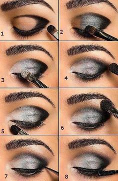 Makeup tips for beginners black women smokey eye ideas Makeup tips for beginners black women smokey eye ideas,Nails & MakeUp! Makeup tips for beginners black women smokey eye ideas Make Up Tutorial Contouring, Makeup Tutorial Step By Step, Makeup Tutorial For Beginners, Eye Tutorial, Smokey Eyes, Smokey Eye Makeup, How To Smokey Eye, Makeup Guide, Makeup Tricks