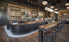 Seattle coffee, starbucks coffee, coffee shop interior design, coffee s Coffee Shop Interior Design, Coffee Shop Design, Interior Design Tips, Exterior Design, Café Starbucks, Starbucks Seattle, Seattle Coffee, Cafe Restaurant, Restaurant Design